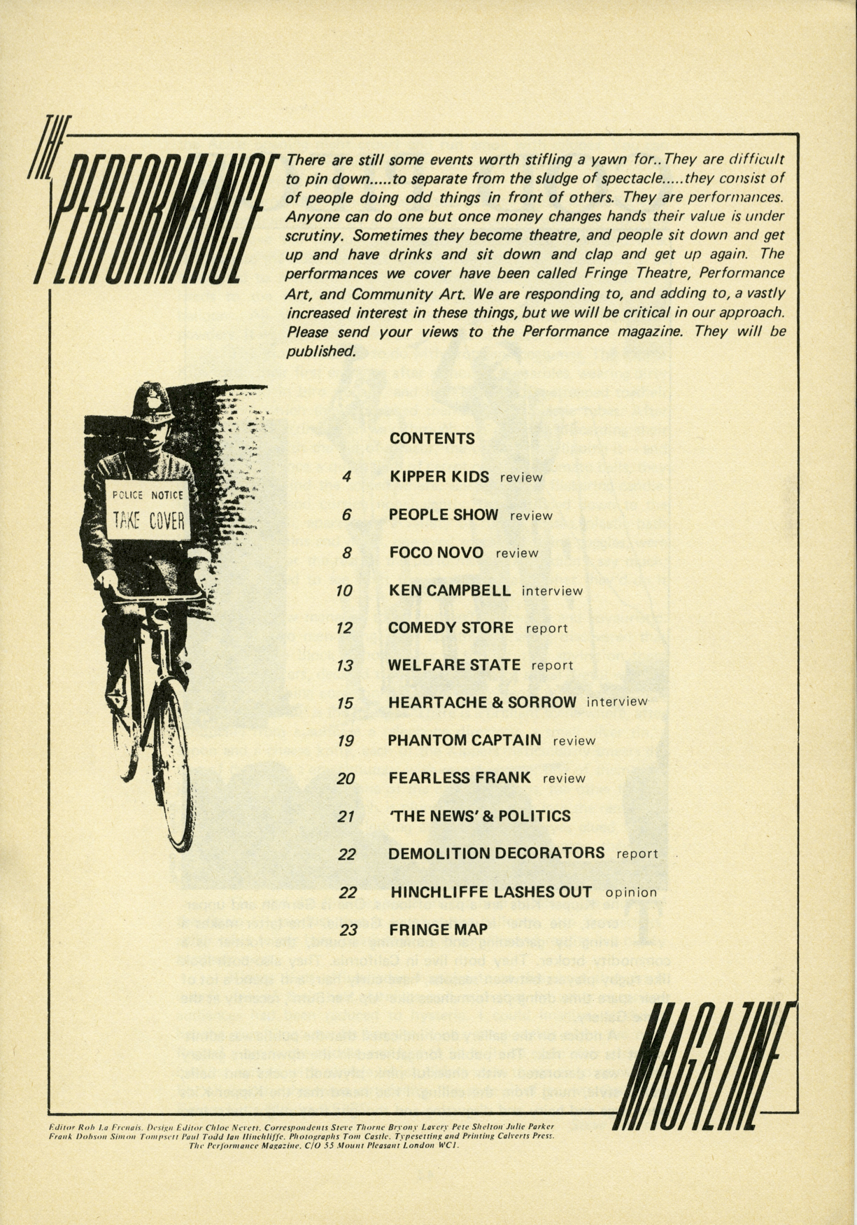 Image 1 - Page 2, Issue 1, 1979